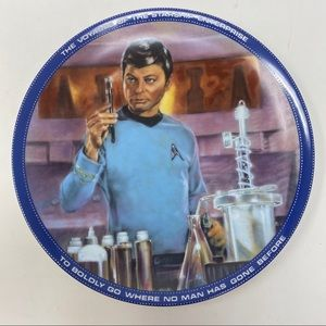 Dr McCoy Star Trek Hamilton Collection Plate